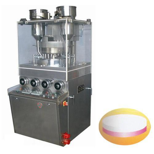 Double Layers Rotary Tablet Press (pressing double layers/colors tablet)