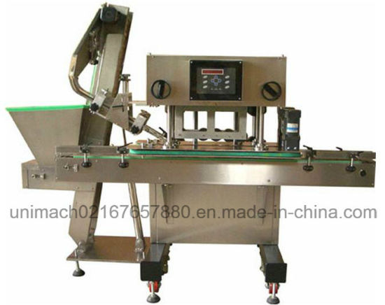 High Speed Capping Machine with Cap Elevator