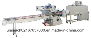 Automatic High Speed Shrink Wrapping Machine for Cup Milk Tea