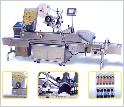 PWM Automatic Horizontal Labeling Machine