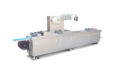 Multi-Function Full Automatic Stretch Film Vacuum Packing Machine for Food
