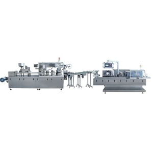 Alu-PVC Blister Packaging and Auto Cartoner Full Production Line (BZX-120B)