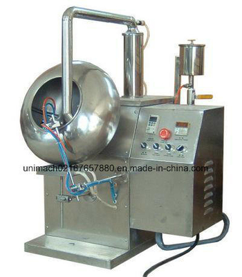 by-400 Coating Machine with Spray Gun, Inner and Outer Heating System