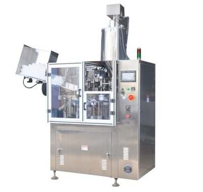 Semi-Automatic Plastic Composite Soft Tube Filling Sealing Machine