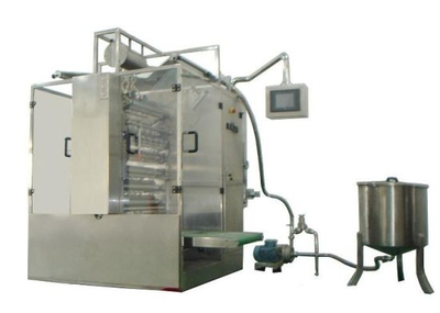Multilane Liquid Four Side Sealing Sachet Packing Machine (DXM-L900B)