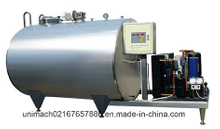 Vertical or Horizontal Fresh Milk Cooling Tank