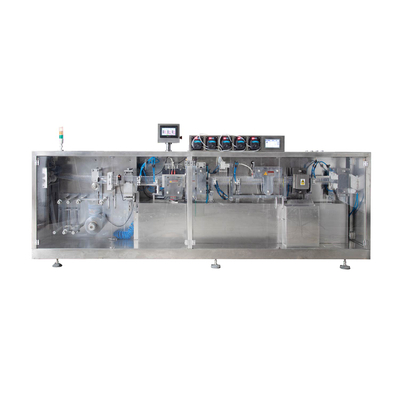 Vertical Roll Film Ampoule Forming Liquid Filling And Sealing Machine