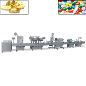 Counting Line Bottle Full Automatic Counting Bottling Machine Line Counting And Bottle Filling Machine